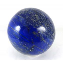 Rich Blue Lapis Lazuli Crystal Ball