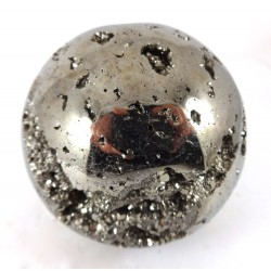 Pyrite Crystal Ball 2 Part