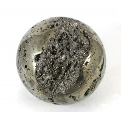 Natural Pyrite Crystal Sphere