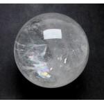 60mm Clear Quartz Crystal Ball from Madagascar