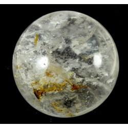 53mm Clear Quartz Crystal Ball from Madagascar
