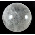 58mm Clear Quartz Crystal Sphere from Madagascar
