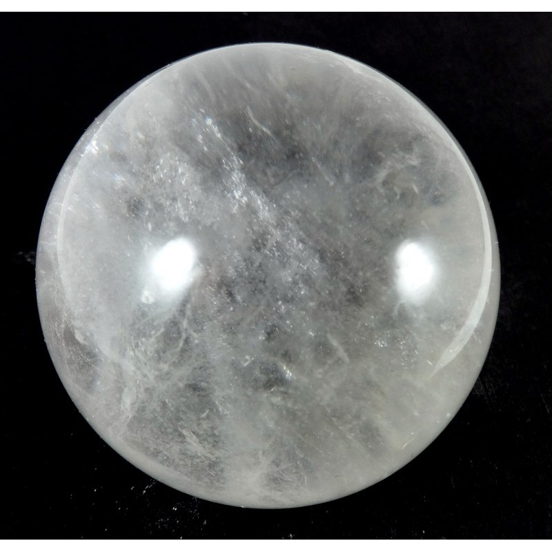 58mm Clear Quartz Crystal Sphere from MadagascarQuartz Crystal Sphere