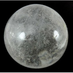 61mm Clear Quartz Crystal Sphere from Madagascar