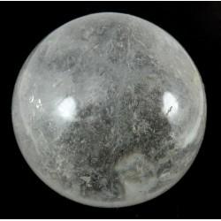 61mm Clear Quartz Crystal Sphere from Madagascar