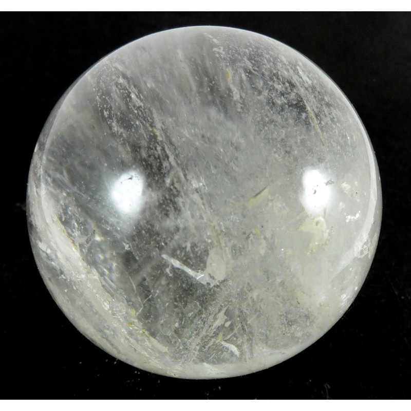 62mm Clear Quartz Crystal Sphere from MadagascarQuartz Crystal Sphere