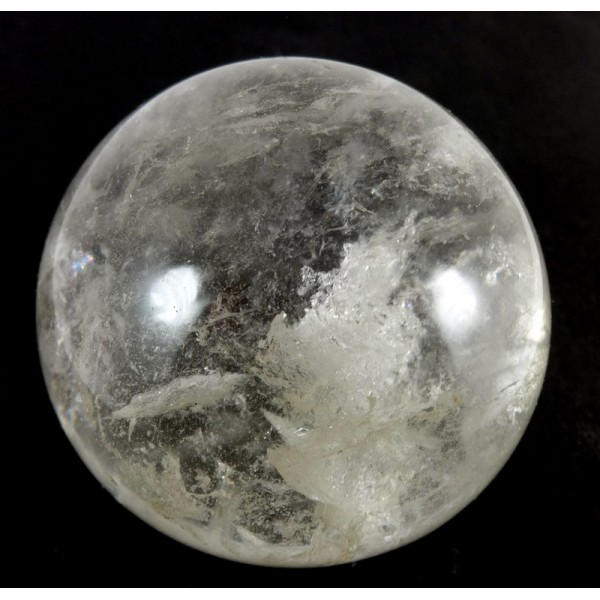 Clear Quartz Crystal Ball 65mm from Madagascar