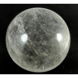62mm Clear Quartz Crystal Ball from Madagascar