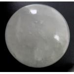 Milky Quartz Crystal Sphere from Brazil