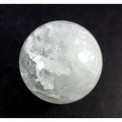 Clear Quartz Crystal Ball from Brazil