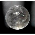 55mm Clear Quartz Crystal Ball from Madagascar