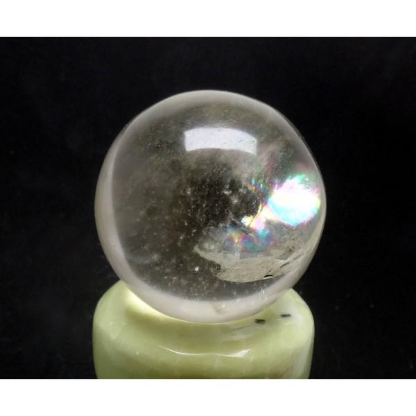 Himalayan Clear Quartz Crystal Sphere