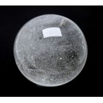 66mm Clear Quartz Crystal Sphere from Madagascar