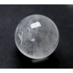 46mm Clear Quartz Crystal Ball from Brazil