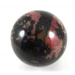 Rhodonite Crystal Ball