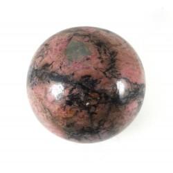 Rhodonite Crystal Sphere