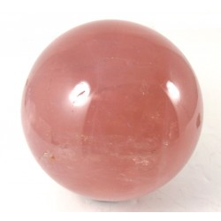 Star Rose Quartz Crystal Ball 65mm