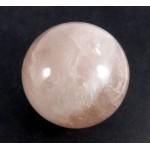 Rose Quartz Crystal Ball from Brazil 48mm