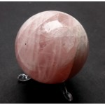 Rose Quartz Crystal Ball from Brazil 57mm