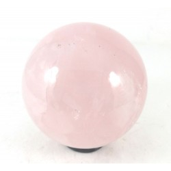 Pink Rose Quartz Crystal Ball from Brazil