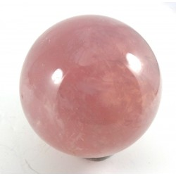 Madagascan Star Rose Quartz Crystal Ball