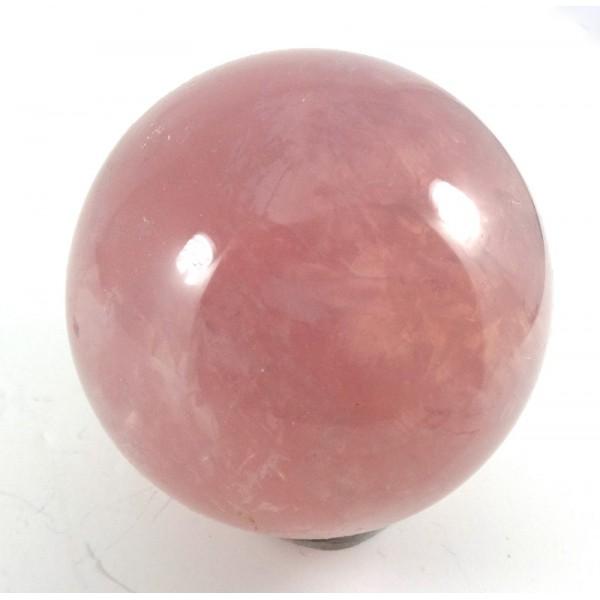 Madagascan Star Rose Quartz Crystal Ball