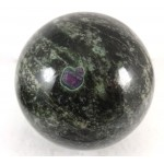 Ruby in Nephrite Crystal Ball