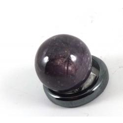 Star Ruby Crystal Ball 17mm