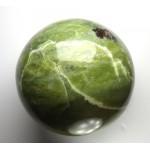 Serpentine Crystal Sphere