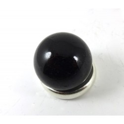 Small Black Tourmaline Crystal Ball