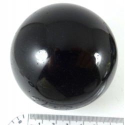 Larger Black Tourmaline Crystal Ball