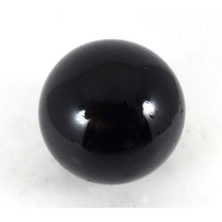 Black Tourmaline Crystal Sphere