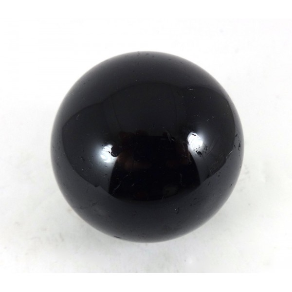 Black Tourmaline Crystal Sphere