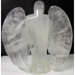 Lovely Carved Clear Quartz Angel