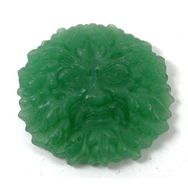 Greenman Carved Aventurine