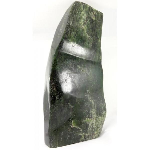Large Deep Green Afghan Jade Bowenite Carving