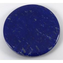 Polished Lapis Lazuli Disc