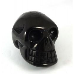 Jet Crystal Skull
