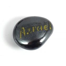 Hematite Archangel Azrael Tumblestone