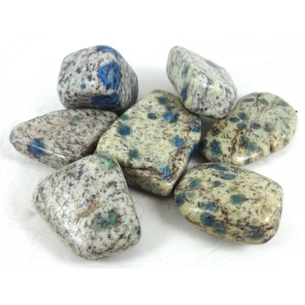 K2 Blue Tumblestone 3cm