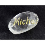 Archangel Michael Clear Quartz Tumblestone