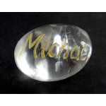Archangel Michael Clear Quartz Tumblestone