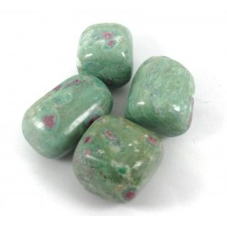 Ruby in Fuchsite tumblestones 27-34mm