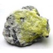 Natural Sulphur Crystals