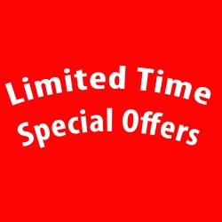 Special Offers - Time Limited